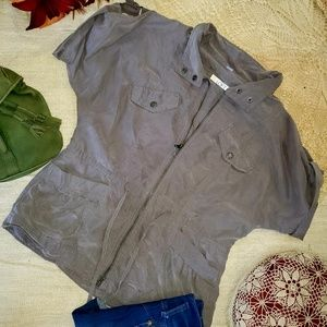 🍁2 for $35🍁 Ann Taylor LOFT zip up blouse